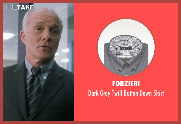 Forzieri gray shirt from Crazy, Stupid, Love. seen with Dan Butler (Cal's Boss)