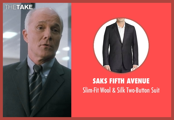 Saks Fifth Avenue gray suit from Crazy, Stupid, Love. seen with Dan Butler (Cal's Boss)