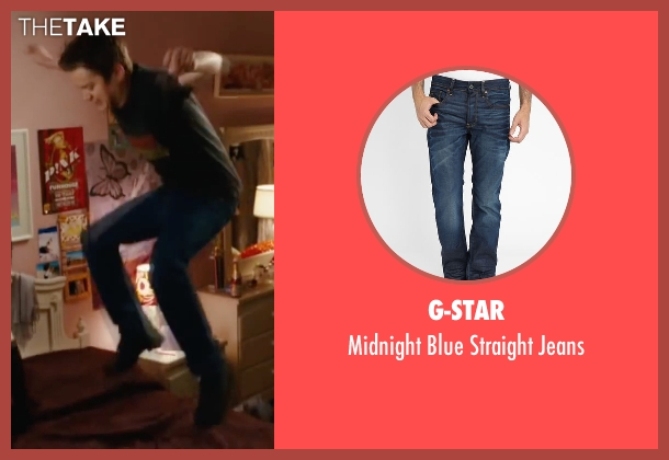 G-Star blue jeans from Easy A seen with Dan Byrd (Brandon)
