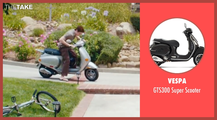 Vespa scooter from Easy A seen with Dan Byrd (Brandon)