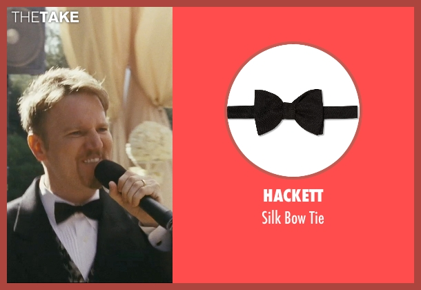 Hackett black tie from The Hangover seen with Dan Finnerty (Wedding Singer)