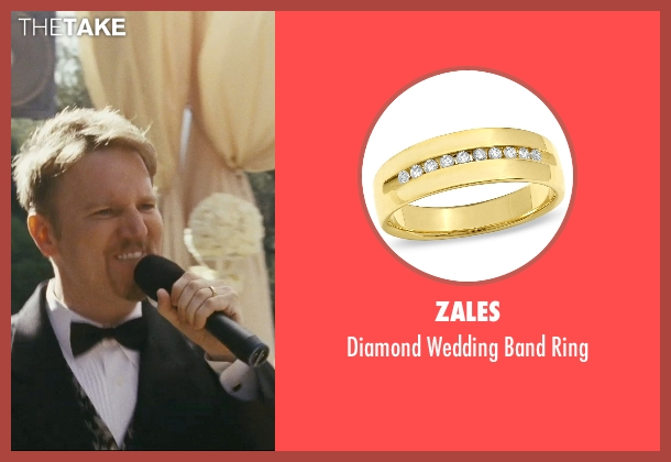 Zales gold ring from The Hangover seen with Dan Finnerty (Wedding Singer)