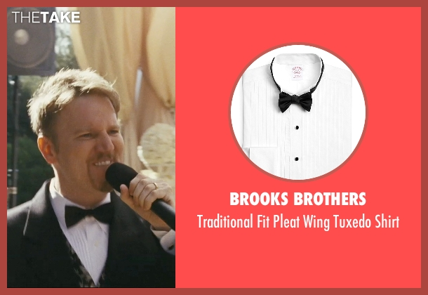 Brooks Brothers white shirt from The Hangover seen with Dan Finnerty (Wedding Singer)