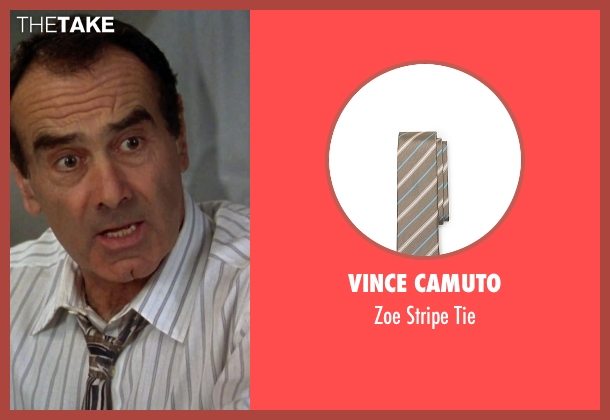 Vince Camuto brown tie from Clueless seen with Dan Hedaya (Mel Horowitz)