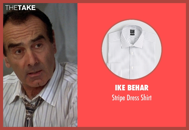 Ike Behar white shirt from Clueless seen with Dan Hedaya (Mel Horowitz)