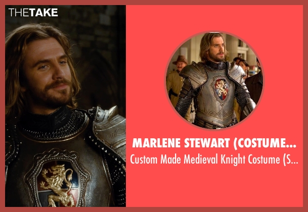 Marlene Stewart (Costume Designer) costume from Night at the Museum: Secret of the Tomb seen with Dan Stevens (Sir Lancelot)