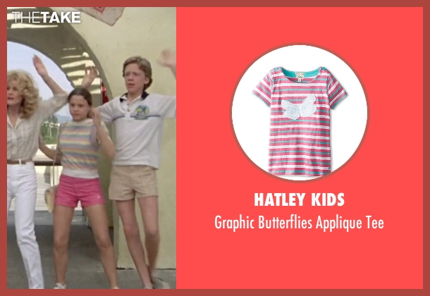 Hatley Kids tee from Vacation seen with Dana Barron (Audrey Griswold)