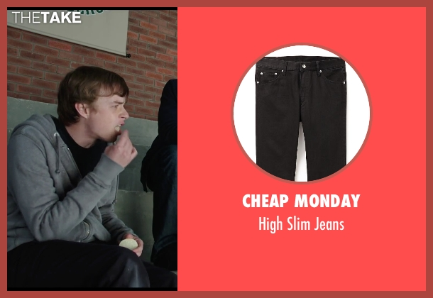 Cheap Monday black jeans from Chronicle seen with Dane DeHaan (Andrew Detmer)
