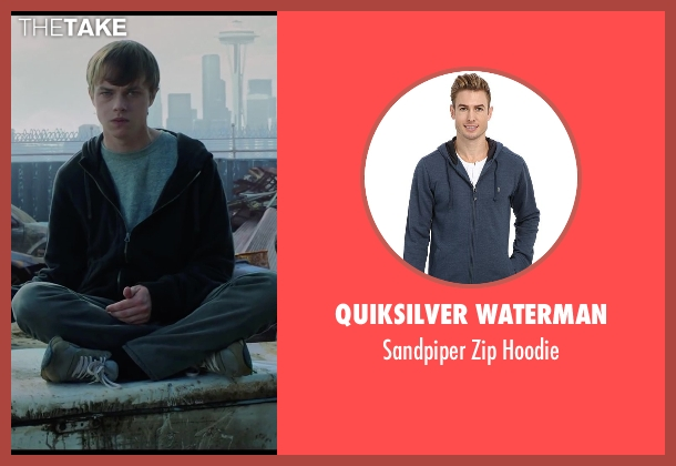 Quiksilver Waterman blue hoodie from Chronicle seen with Dane DeHaan (Andrew Detmer)