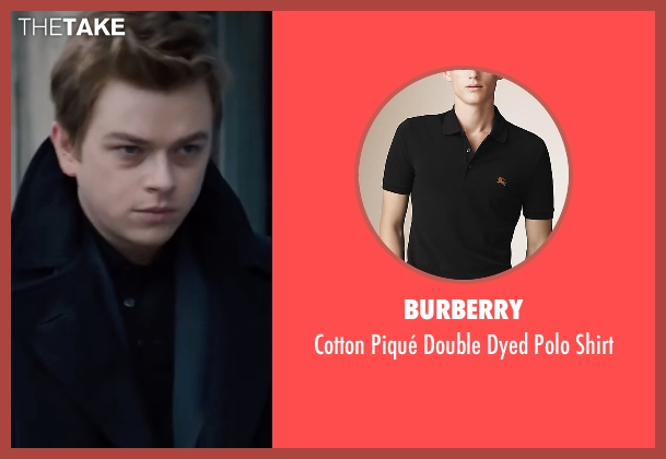 Burberry black shirt from Life seen with Dane DeHaan (James Dean)