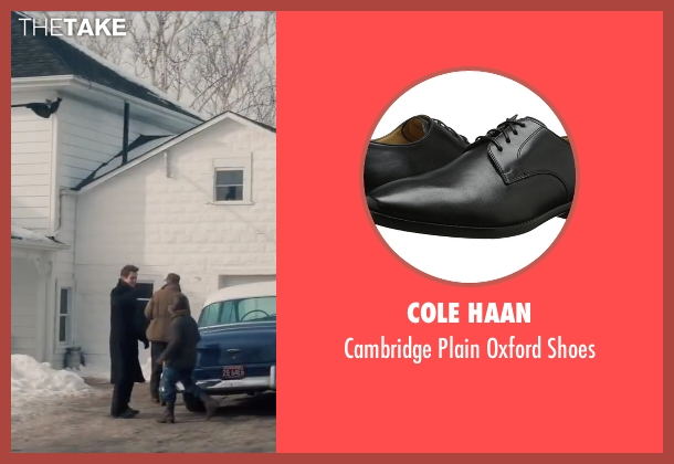 Cole Haan black shoes from Life seen with Dane DeHaan (James Dean)