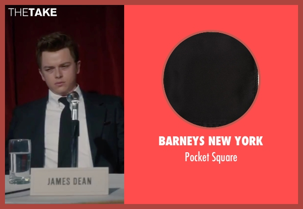 Barneys New York black square from Life seen with Dane DeHaan (James Dean)