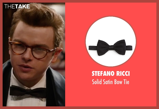 Stefano Ricci black tie from Life seen with Dane DeHaan (James Dean)