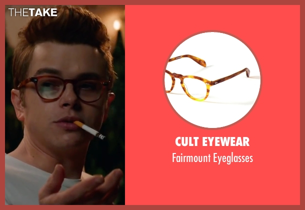Cult Eyewear brown eyeglasses from Life seen with Dane DeHaan (James Dean)