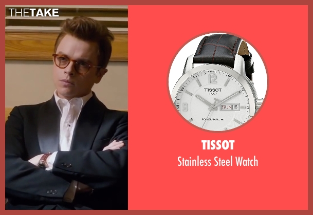 Tissot brown watch from Life seen with Dane DeHaan (James Dean)