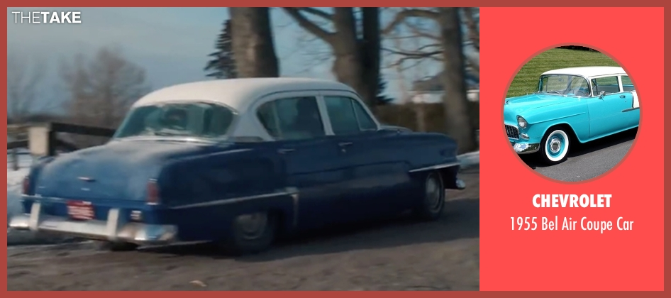 Chevrolet car from Life seen with Dane DeHaan (James Dean)