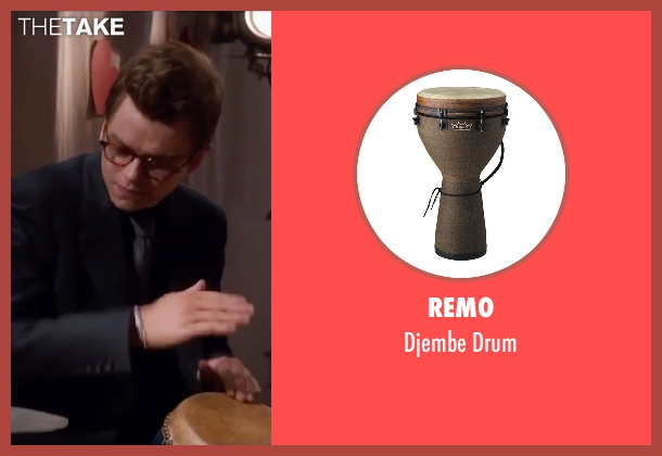 Remo drum from Life seen with Dane DeHaan (James Dean)
