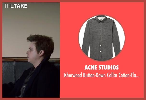 Acne Studios gray shirt from Life seen with Dane DeHaan (James Dean)