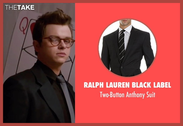 Ralph Lauren Black Label suit from Life seen with Dane DeHaan (James Dean)