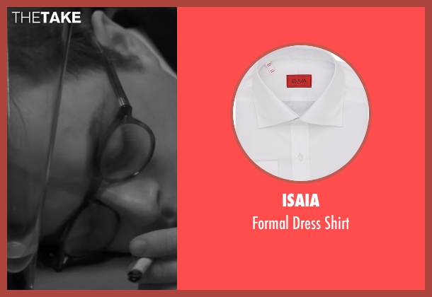 Isaia white shirt from Life seen with Dane DeHaan (James Dean)