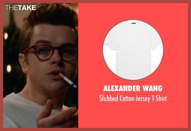 Alexander Wang white t-shirt from Life seen with Dane DeHaan (James Dean)