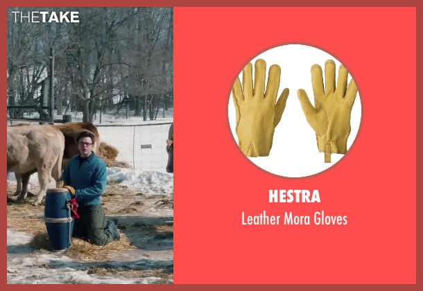 Hestra yellow gloves from Life seen with Dane DeHaan (James Dean)