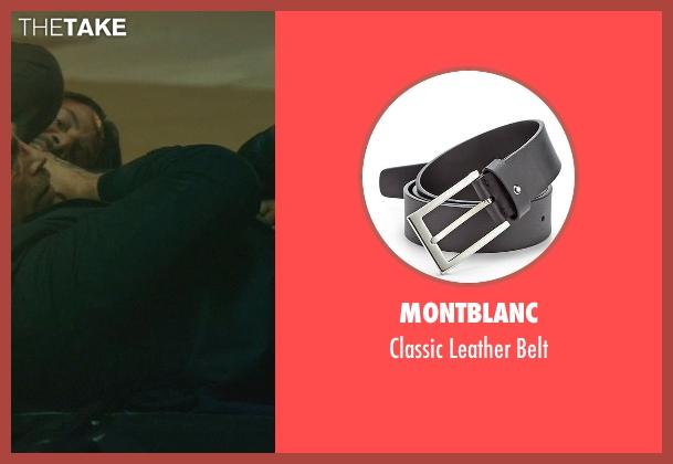 Montblanc black belt from John Wick seen with Daniel Bernhardt (Kirill)