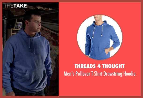 Threads 4 Thought blue hoodie from Mean Girls seen with Daniel Franzese (Damian)
