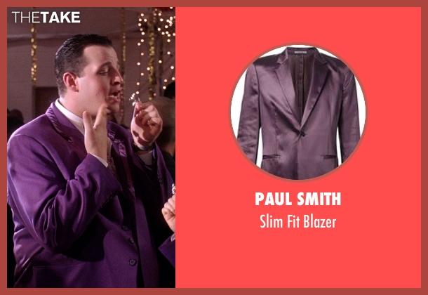 Paul Smith purple blazer from Mean Girls seen with Daniel Franzese (Damian)