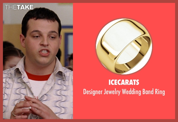 Icecarats yellow ring from Mean Girls seen with Daniel Franzese (Damian)