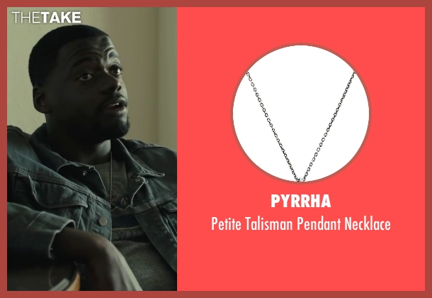 Pyrrha silver necklace from Sicario seen with Daniel Kaluuya (Reggie)