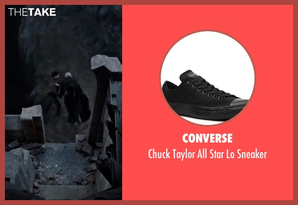 Converse black sneaker from Harry Potter and the Deathly Hallows: Part 2 seen with Daniel Radcliffe (Harry Potter)