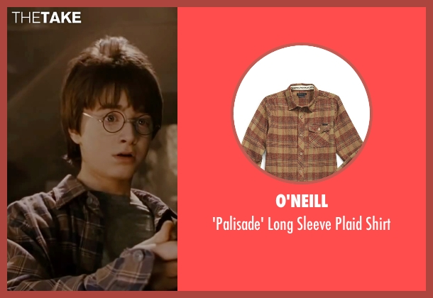 O'Neill brown shirt from Harry Potter and the Deathly Hallows: Part 2 seen with Daniel Radcliffe (Harry Potter)
