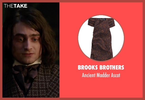 Brooks Brothers ascot from Victor Frankenstein seen with Daniel Radcliffe (Igor)