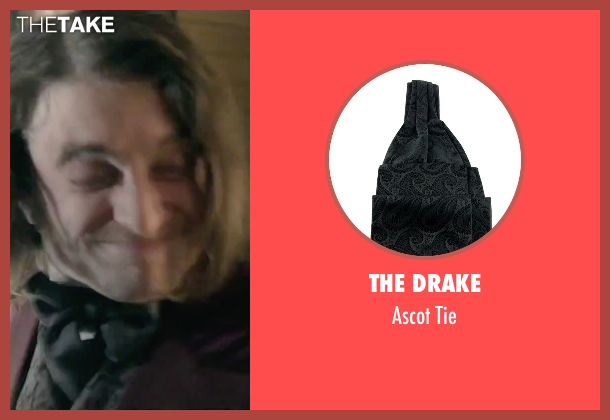 The Drake black tie from Victor Frankenstein seen with Daniel Radcliffe (Igor)