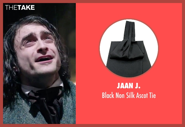Jaan J. black tie from Victor Frankenstein seen with Daniel Radcliffe (Igor)