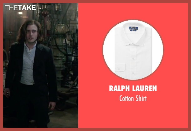 Ralph Lauren white shirt from Victor Frankenstein seen with Daniel Radcliffe (Igor)