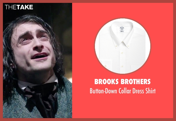 Brooks Brothers white shirt from Victor Frankenstein seen with Daniel Radcliffe (Igor)