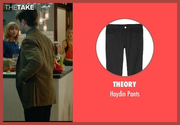 Theory black pants from What If seen with Daniel Radcliffe (Wallace)
