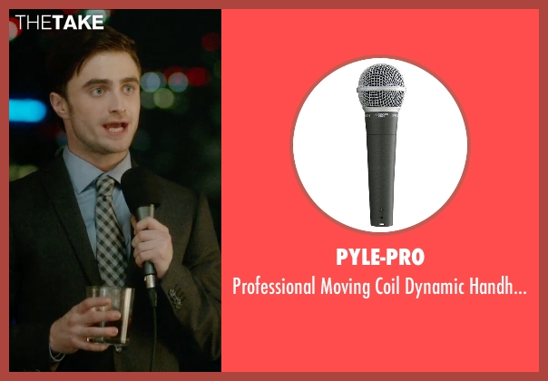 Pyle-Pro microphone from What If seen with Daniel Radcliffe (Wallace)
