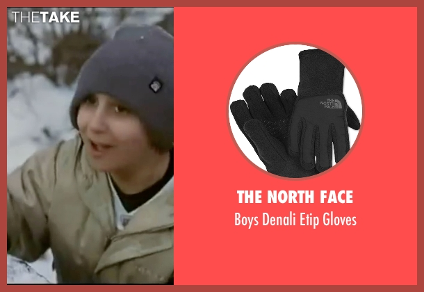 The North Face black gloves from Elf seen with Daniel Tay (Michael A.)