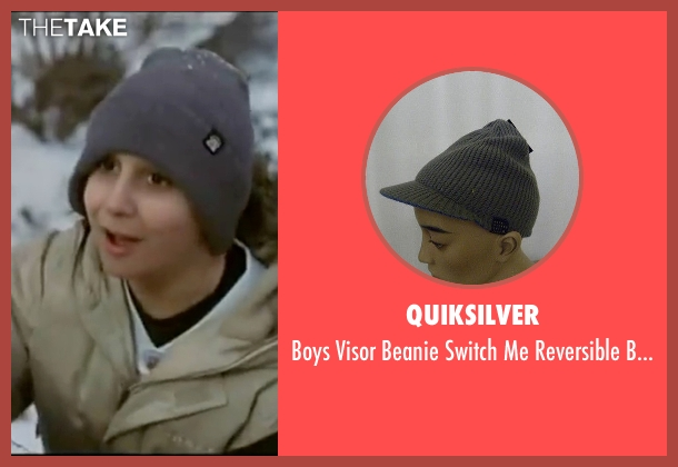 Quiksilver gray beanie from Elf seen with Daniel Tay (Michael A.)