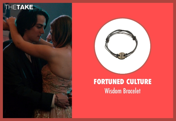 Fortuned Culture black bracelet from Laggies seen with Daniel Zovatto (Junior)