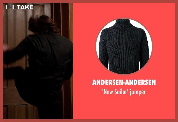 ANDERSEN-ANDERSEN black jumper from Vampire Academy seen with Danila Kozlovsky (Dimitri Belikov)
