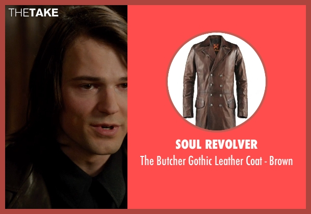 Soul Revolver brown brown from Vampire Academy seen with Danila Kozlovsky (Dimitri Belikov)