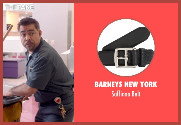 Barneys New York black belt from Top Five seen with Danny Bolero (Mexican Janitor)