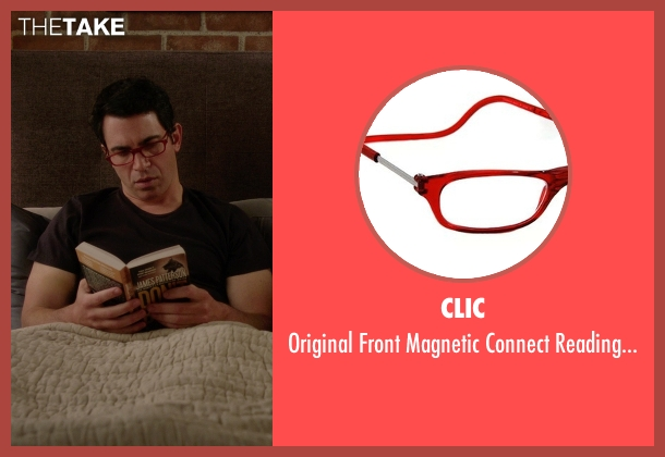 CliC red glasses from The Mindy Project seen with Danny Castellano (Chris Messina)