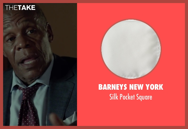 Barneys New York white square from Beyond the Lights seen with Danny Glover (Captain David Nicol)