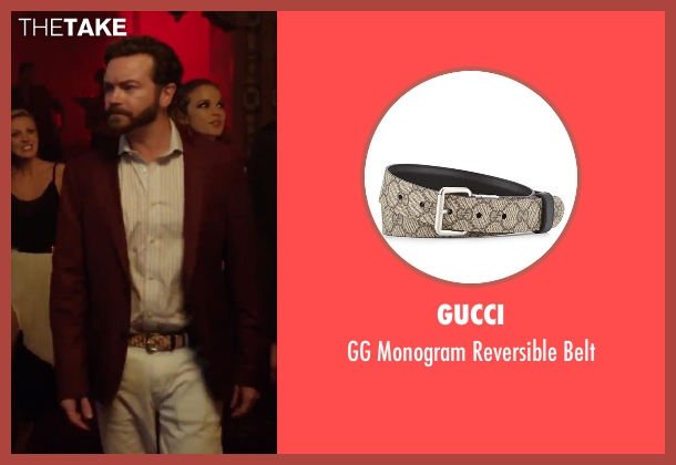 Gucci beige belt from Urge seen with Danny Masterson (Neil)