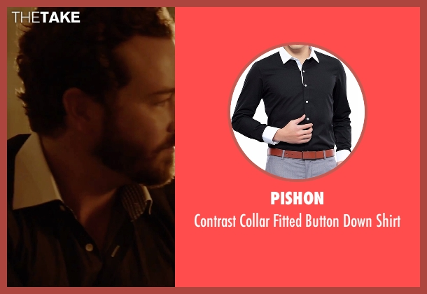 Pishon black shirt from Urge seen with Danny Masterson (Neil)